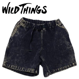 WILD THINGS ワイルドシングス ヘビーウェイトクライミングパンツ ケミカル ハーフパンツ|mash-webshop