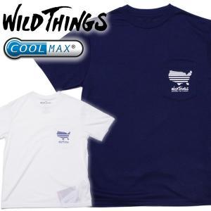 Wild Things ワイルドシングスCOOLMAX POCKET TEE AMERICAクールマックスポケットTee アメリカ柄|mash-webshop