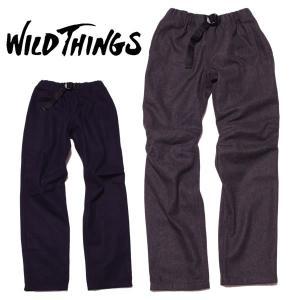 WILD THINGS ワイルドシングス ウールパンツ メルトンウールクライマーパンツ|mash-webshop