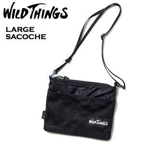 WILD THINGS ワイルドシングス ショルダーバッグ ラージサコッシュ 別注モデル|mash-webshop