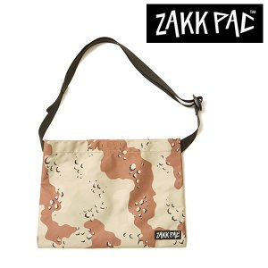 ZAKK PAC ザックパック サコッシュ チョコチップカモ男女兼用 ショルダーバッグ20|mash-webshop