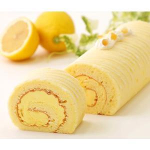 ふんわりもちっと柔らかなレモンスポンジでレモンクリームを巻き込みました。 仕上げはレモンチョコをライ...
