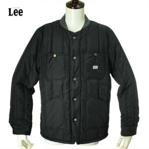 Lee リー PADDED WORK JACKET LS1262 / 75 BLACK