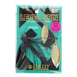 レベルスピン 1/2oz LS017(ダークナイト) レイドジャパン【ゆうパケット】【同梱不可】