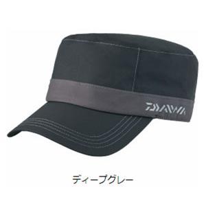 ダイワ レインマックス 透湿防水ワークキャップ DC-32008 フリー ディープグレー