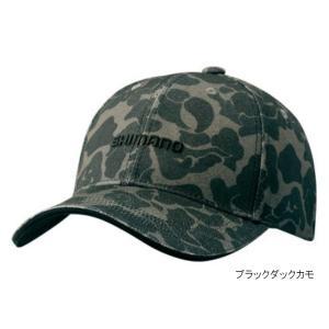 プリントキャップ CA-071S フリー ブラックダックカモ シマノ