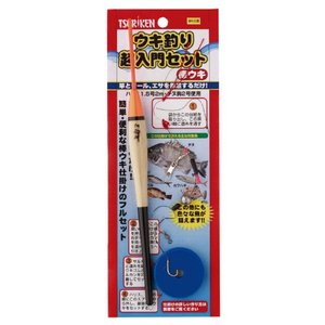 釣研ウキ釣り超入門セット 棒ウキ 釣研【同梱不可】