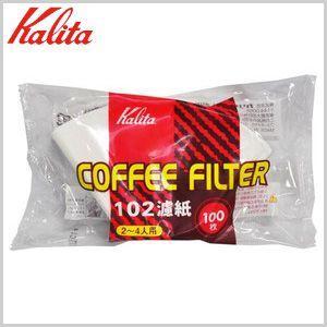 カリタ Kalita  コーヒーフィルター 102濾紙 ろし ロシ ろ紙 100枚入 ホワイト|masuda-shop