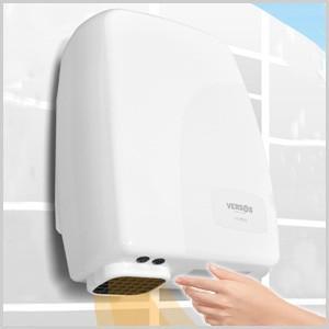 手 乾燥 トイレ 脱衣所 センサー付き ハンドドライヤー 家庭用 ジェット 温風 タオル 温風タオル 温風乾燥 トイレ 手洗い後 乾燥 ジェットタオル VS-H006|masuda-shop