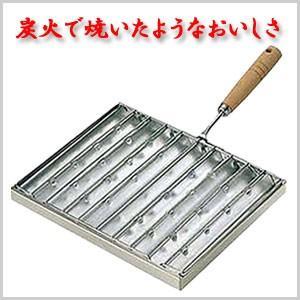 kan 焼上手 片手 グリル 焼魚 焼き魚 炭火焼風 炭火焼き風 煙が 出にくい 焼き肉 魚 肉 109057|masuda-shop