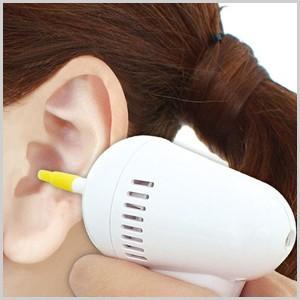 イヤークリーナー イヤーバキューム 電動耳掃除器 電動耳掃除機 電動 耳掃除器 耳掃除機 耳そうじ器 耳そうじ機 耳そうじ 耳掃除 KA-00281|masuda-shop