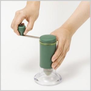 京セラ KYOCERA セラミックお茶ミル [ CM−50GT ] お茶ミル ミル お茶粉末器 お茶引き器 粉末 緑茶 お茶 茶 手挽き 手動