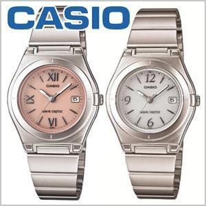カシオ CASIO 腕時計 WAVE CEPTOR ウェーブセプター タフソーラー 電波時計 レディース ホワイト ピンク [ LWQ-10DJ-7A1JF LWQ-10DJ-4A1JF ] masuda-shop