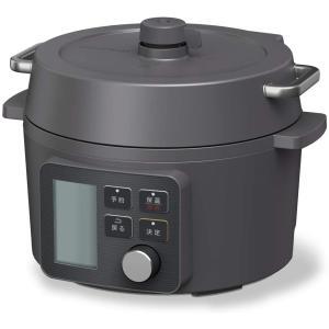 電気圧力鍋 2.2L ブラック KPC-MA2-B アイリスオーヤマ 65種類自動メニュー搭載|masukosyouten