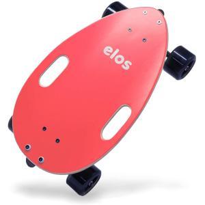 Elos(イロス) スケートボード Lightweight Complete EL723 2020年軽量化モデル Coral Red 289|masukosyouten