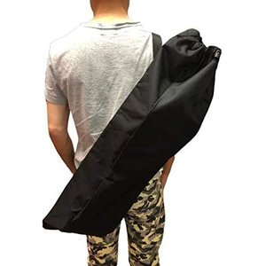 OrangeHawk スケートボード スケボー バッグ 袋 高級な厚手のバッグ 肩紐つき 黒 無地|masukosyouten