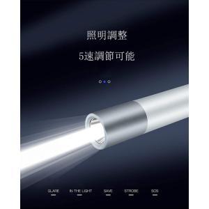 懐中電灯 LED 超高輝度 最強1600ルーメン 超強力 小型 懐中電灯 USB充電式 ハンディライト ledライト 軽量 5つモード 24|masukosyouten