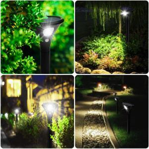 2020年最新版LEDガーデンライト 芝生ランプ ソーラーライト ikasus 高輝度 人感センサーライト ソーラー 昼白色 埋め込み式 ソ|masukosyouten