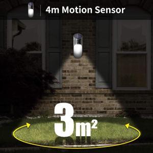 Neporalセンサーライト ソーラーライト 屋外 2輝度壁掛三つ知能モード 人感センサー付き 夜間自動点灯 IP65防水 玄関先/庭/ガー|masukosyouten
