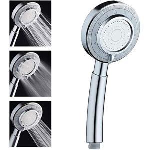 シャワーヘッド 水量調節 高水圧節水 3段階モード調節 洗濯 ナノバブル 工具不要 国際汎用基準G1/2 バス用品 シャワー・ヘッド|masukosyouten