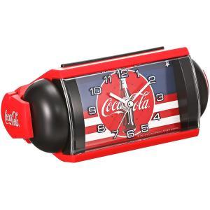 セイコー クロック 目覚まし時計 コカ・コーラ Coca-Cola アナログ 大音量 ベル音 赤 AC604R SEIKO AC604R masukosyouten