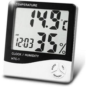 Departmenhouse デジタル温湿度計 湿度計/温度計/アラーム 温度 測定器/カレンダー/目覚まし時計5つの機能の壁に取り付け masukosyouten