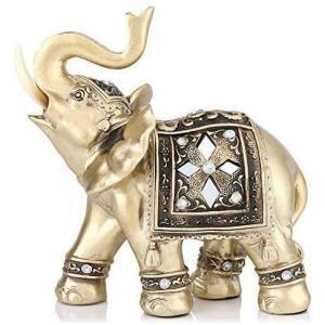 象 ゾウ 象彫刻 象置物 ゾウ彫刻 家装飾 風水置物 インテリア 置物 手工芸品 装飾品 かわいい動物 オブジェ ホーム オフィス ホール ホテル 喫 masukosyouten