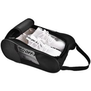 ゴルフシューズバッグ ゴルフシューズ 入れ ケース 収納 靴入れ 通気 ダブルジッパー式 持ち運びに便利 出張/バスケット/ジム//旅行/スポーツ用(|masukosyouten