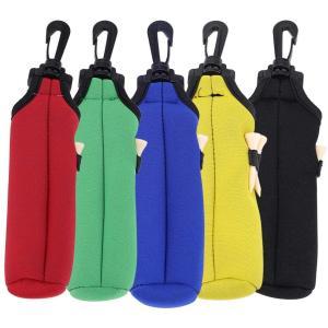 ボールケース ゴルフ用 ゴルフボール収納バッグ 軽量ゴルフボール収納バッグ 弾力性 滑らかさ 柔らかさ 防水 防塵 3つのゴルフティー収納 強力なクリ|masukosyouten