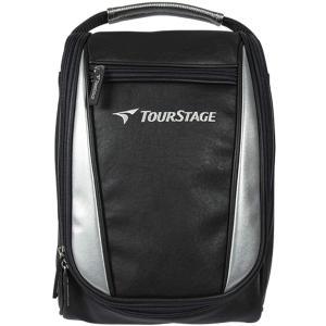 ツアーステージ(TOUR STAGE) シューズバッグ TS-SC0418 ブラック|masukosyouten