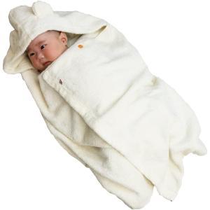 今治タオル imabari towel 出産祝い 日本製 オーガニックコットン ベビーバスローブ バスポンチョ ギフトセット|masukosyouten