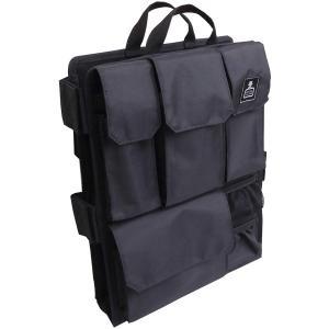 [カバンノナカミ] リュックの中身Ver.4.0 バッグインバッグ 【カバンの中身】リュック用 多機能インナーバッグ ブラック masukosyouten