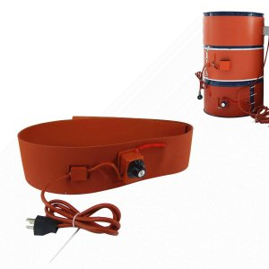 BAOSHISHANドラム缶ヒーター オーエムヒーター ドラム缶用加熱機器 ノブ型 オレンジ 20L/30L/100L/150L/200L110V (|masukosyouten