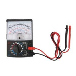 Salinr アナログマルチメータ 定番テスター 電流・電圧・抵抗 電池テスト機能 AC DC 電圧抵抗テスト機器 物理教育機器 計測器 工業 電子計|masukosyouten
