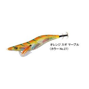 ユニチカ EGI S2β エギエスツーベータ 3.5号N 27:オレンジスギマーブル|masuoka