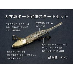 カマ専ダート釣法スタートセット マイクロワインド 海小物ルアー|masuoka
