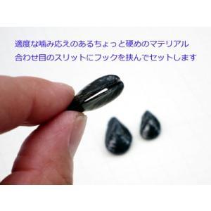 NEVER LATE JAPAN 落とし貝R チヌ落とし込み釣りイガイ型クロダイルアー ゆうパケットでも送れます|masuoka|05