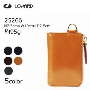 LOWARD ロワード Pid 25266 Vasto(ヴァスト) 25266 コードバンレザー使用 ウォレット パス&コインケース|masuya-bag