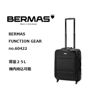 BERMAS FUNCTION GEAR PLUS (No.60422 縦型2輪キャリー)