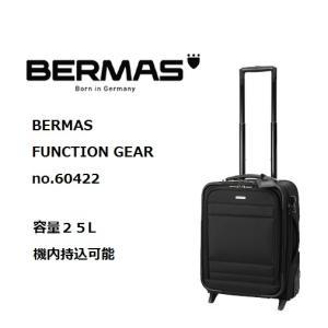 BERMAS FUNCTION GEAR PLUS 縦型2輪キャリー 60422 45cm/容量:25L/重量:4.1kg|masuya-bag