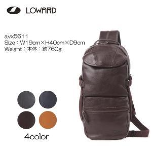 LOWARD ロワード AVIREX(アヴィレックス) AVX5611 BULT(ブルト) ボディーバッグ   牛革使用|masuya-bag