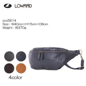 LOWARD ロワード AVIREX(アヴィレックス) AVX5614 BULT(ブルト) ボディーバッグ   牛革使用|masuya-bag