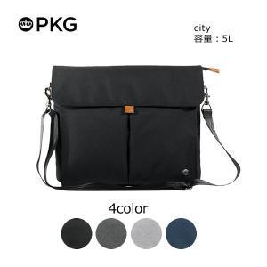 日本総代理店 PKG(ピーケージー) City サイズ:35.6cm x 29.2cm x 6.35cm(5L)|masuya-bag