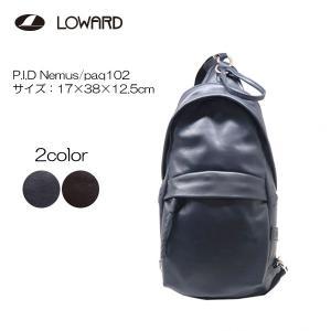 LOWARD(ロワード)P.I.D Nemus(ネムス) PAQ102 ボディバッグ|masuya-bag