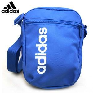 【1個に限りメール便可】アディダス adidas リニアオーガナイザー DT8627 FSX07 青 ショルダーポーチ バッグ 【2個以上の場合は宅配便に修正】|masuya92
