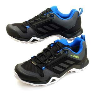 アディダス adidas TERREX AX3 GTX EF3311 テレックス ゴアテックス 黒青 防水 登山靴 トレッキング メンズ|masuya92