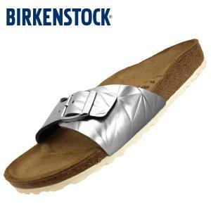 [30%OFF] ビルケンシュトック BIRKENSTOCK Classic Madrid BS 1008454 マドリッド 銀 サンダル レディース|masuya92