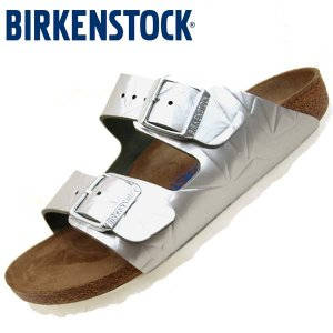 [30%OFF]ビルケンシュトック BIRKENSTOCK Classic Arizona BS 1008480 アリゾナ スペクトラルシルバー ソフトフットベッド サンダル レディース|masuya92