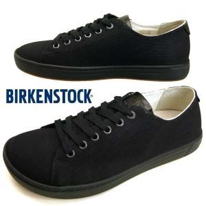 [42%OFF]ビルケンシュトック BIRKENSTOCK  ARRAN 黒 デニム アラン 415581 キャンバス スニーカー メンズ|masuya92