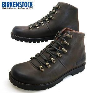 ビルケンシュトック BIRKENSTOCK Classic HANCOCK 434371 濃茶 本革 ハンコック ブーツ メンズ|masuya92